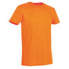 STEDMAN-ST8000-meeste-t-särk-body-fit-oranz-orange-siiditrükk