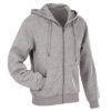 stedman-st5610-meeste-pusa-kapuutsiga-lukuga-hooded-hall-grey-heather-kooli-logo-tikkand